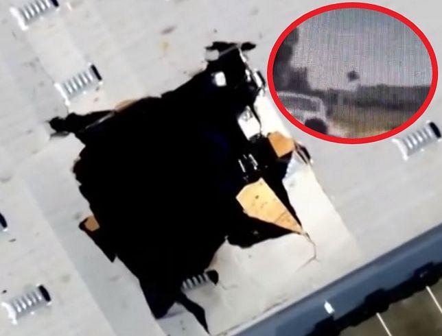 Samolot roztrzaskał się na strzępy