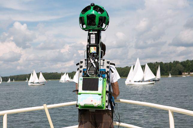 Google Street View Trekker po raz pierwszy w Polsce