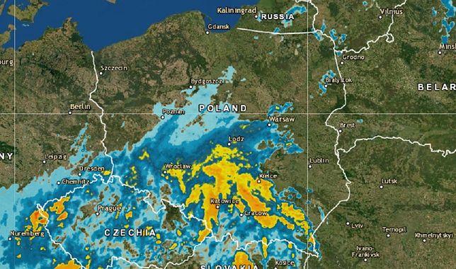 Sprawdź, gdzie jest burza dziś