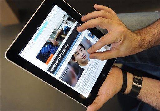 Ceny iPad'ów wskazują, że euro wciąż jest zbyt drogie