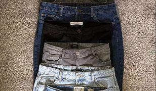 Wszystkie spodnie powyżej mają ten sam rozmiar