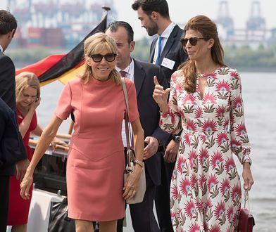 Brigitte Macron na szczycie G20. Założyła mini