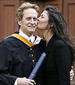 Michael Douglas nie chce być kochankiem żony