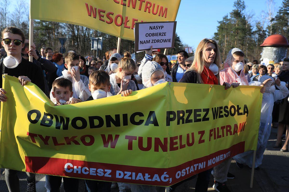 Zablokują wylotówkę z Warszawy. Spór o wschodnią obwodnicę