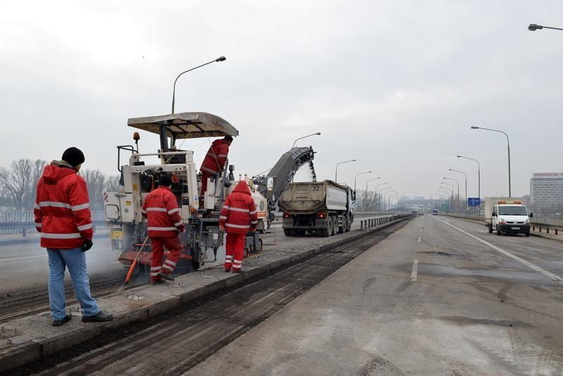 """Most Łazienkowski wróci szybciej? """"Chcemy, aby odbudowa zakończyła się w tym roku"""""""