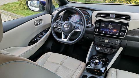 Nissan Leaf e+: Systemy wsparcia kierowcy, zarządzania energią oraz audio Bose