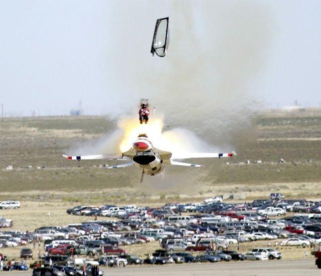 Refleks pilota F-16
