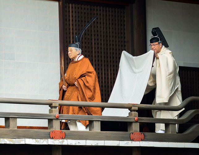 Cesarz-emeryt Akihito