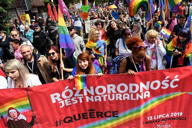 Kielce. Ulicami miasta przeszedł Marsz Równości. Zatrzymanie podczas imprezy?