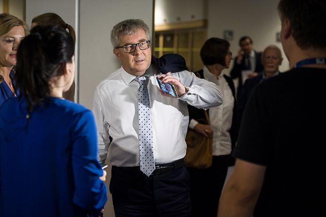 Ryszard Czarnecki w Brukseli