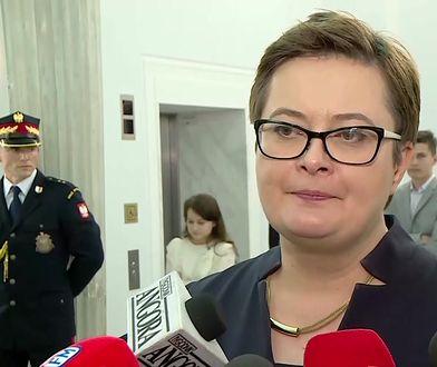 Pierwsze posiedzenie Sejmu. Katarzyna Lubnauer krytykuje Andrzeja Dudę i Antoniego Macierewicza