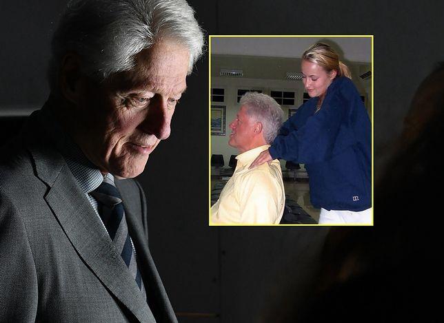 Po 18 latach wyciekło zdjęcie Billa Clintona. W towarzystwie ofiary pedofila