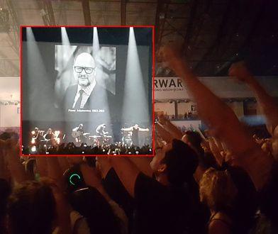 Poruszające sceny na koncercie Disturbed. Hołd dla Adamowicza
