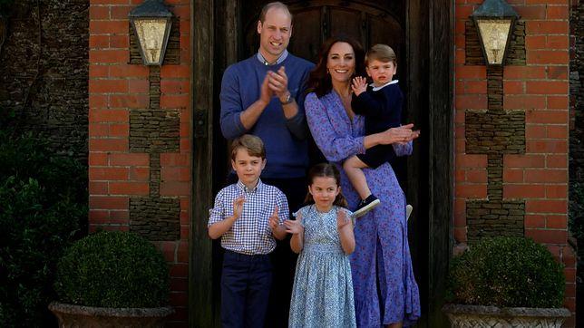 Rodzina Kate i Williama w komplecie.