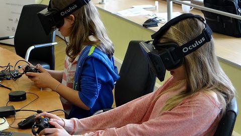 Badacze twierdzą, że dzieciaki pokochają wirtualną rzeczywistość