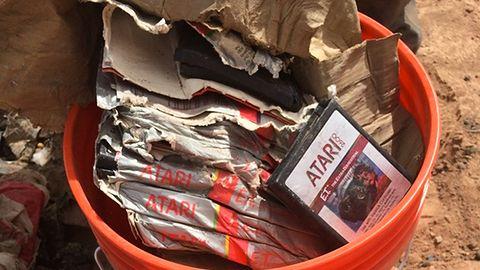 Gry Atari naprawdę były zakopane na wysypisku śmieci