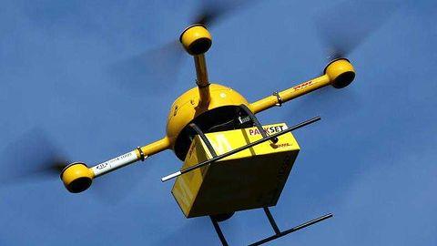 Dron zamiast kuriera? W Niemczech paketkoptery będą codziennością