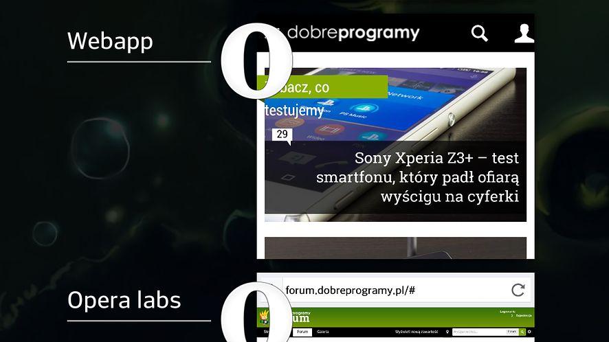 Opera dla Androida zamieni strony w aplikacje przypinane do ekranu głównego