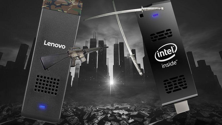 Potyczki patyczków: test Intela Compute Stick oraz Lenovo Ideacentre Stick 300