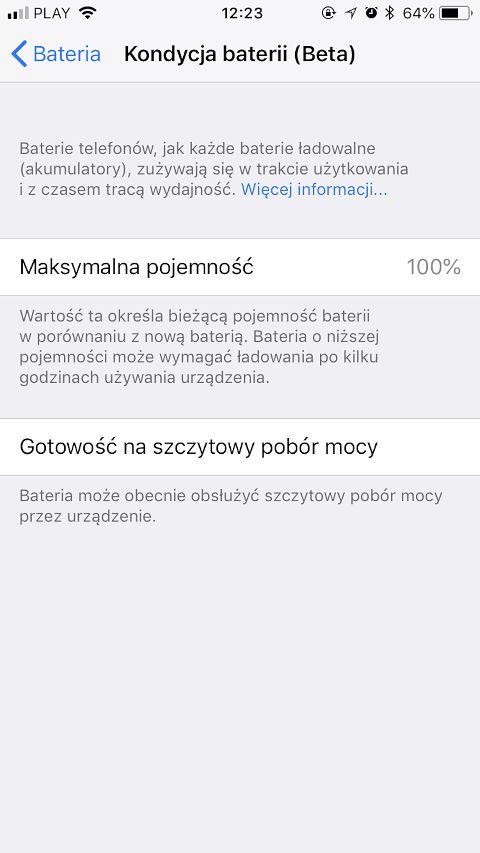 iOS pozwala już użytkownikowi samodzielnie zdecydować, czy zależy mu bardziej na żywotności baterii czy maksymalnej wydajności iPhone'a.