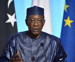 Prezydent Czadu Idriss Deby zginął w starciach z rebeliantami