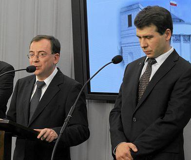 Pełnomocnikiem agenta Tomka ma być Martin Bożek (pierwszy z lewej), człowiek Mariusza Kamińskiego