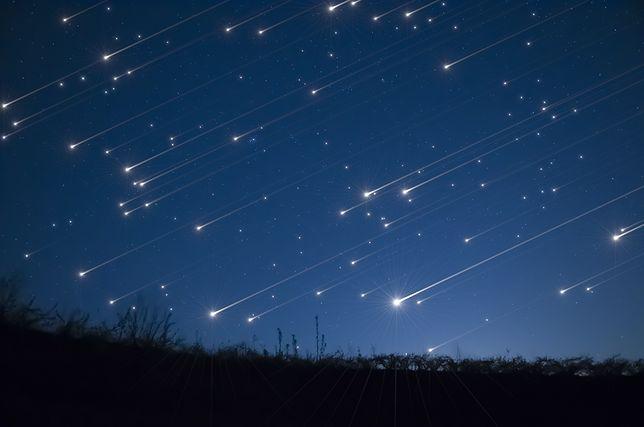 Deszcz meteorów będzie widoczny w Polsce