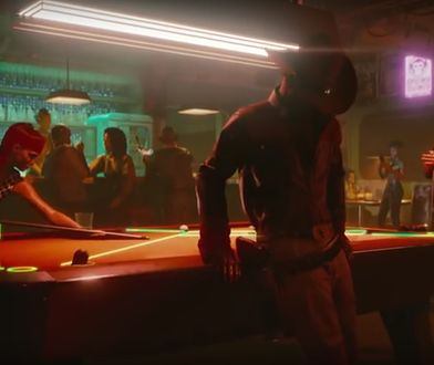 "Fragment z trailera do gry ""Cyberpunk 2077"""