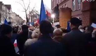 """""""Marsz Tysiąca Tóg"""". Sędziowie wzięli udział w akcji uderzającej w prezydenta RP."""