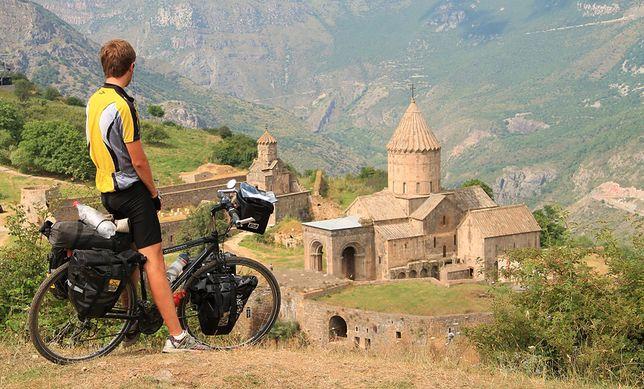Karol Werner - rowerem przez Kaukaz i Bliski Wschód