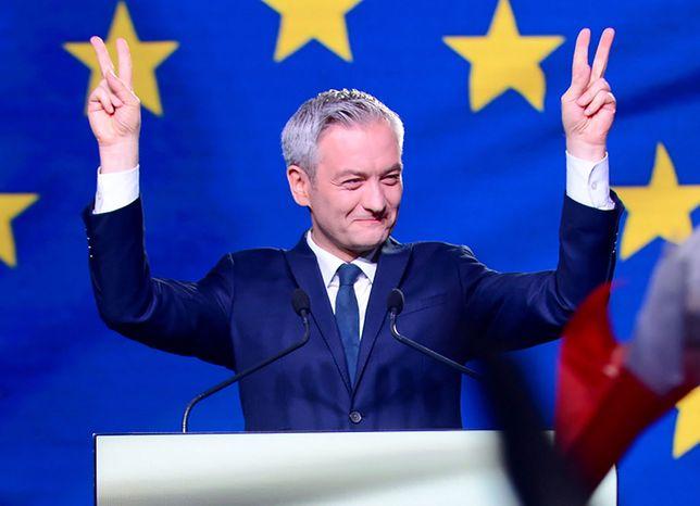Wybory do europarlamentu 2019. Konwencja Wiosny w Łodzi. Oglądaj na żywo