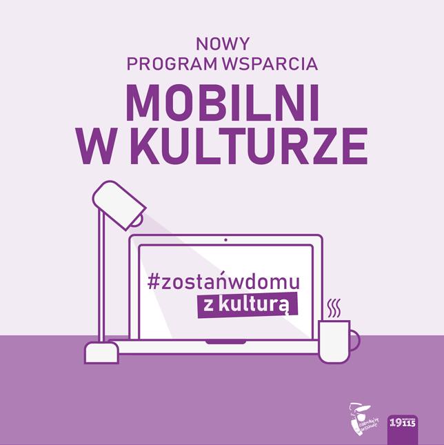 Koronawirus. Warszawa. Miasto wspiera kulturę i ludzi z nią związanych.
