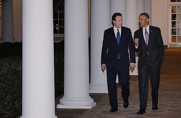 David Cameron i Barack Obama
