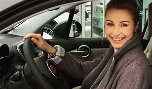 Joanna Brodzik jest dumną posiadaczką Fiata 500X