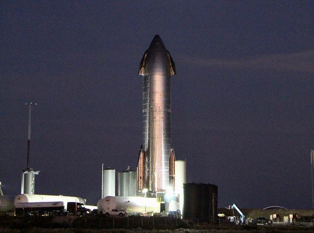 Elon Musk zapowiada testy rakiety Starship. Będzie transmisja na żywo