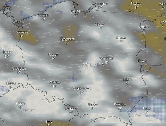 Pogoda na 19 października. Prognoza zagrożeń IMGW
