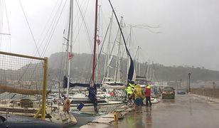 Pogoda. Cyklon lanos uderzył w Grecję