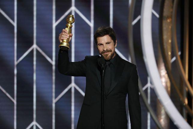 """To drugi Złoty Glob w karierze Christiana Bale'a. W 2010 dostał nagrodę za drugoplanową rolę w """"The Fighter"""""""