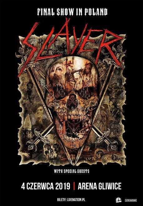 Slayer zagra w Gliwicach. To będzie ich ostatni koncert w Polsce
