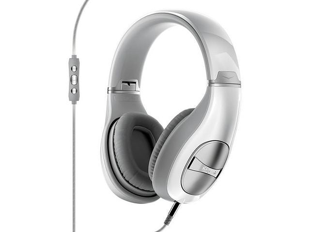 słuchawki białe