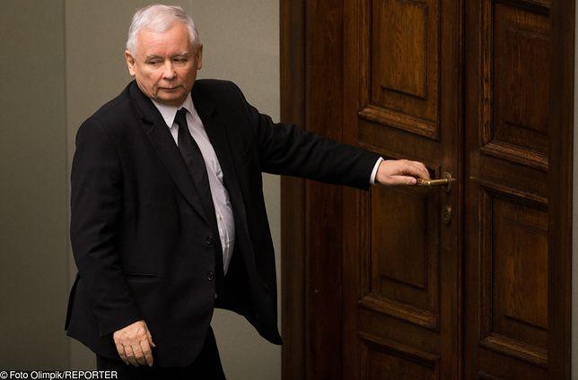 Jarosław Kaczyński miał ruszyć w Polskę. Plany się jednak zmieniły