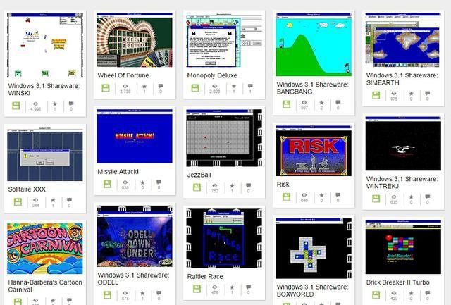 Setki gier z Windowsa 3.1 od teraz w Twojej przeglądarce