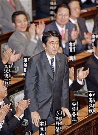 Shinzo Abe nowym premierem Japonii