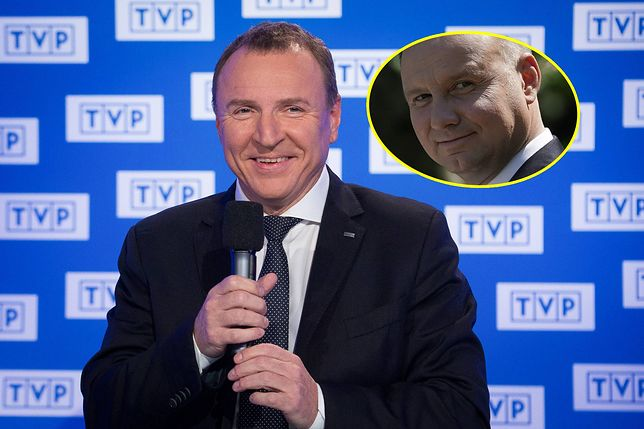 Andrzej Duda cieszył się sporą uwagą na antenach TVP.