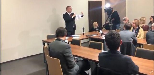 Maciej Nawacki rozzłościł sędziów. Mają szykować zawiadomienie do prokuratury