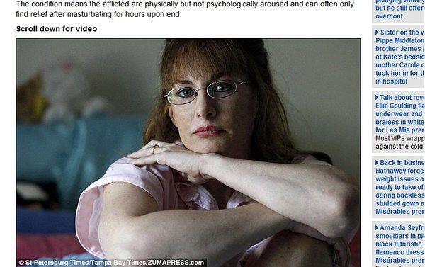 Bezustanne podniecenie seksualne ją zabiło