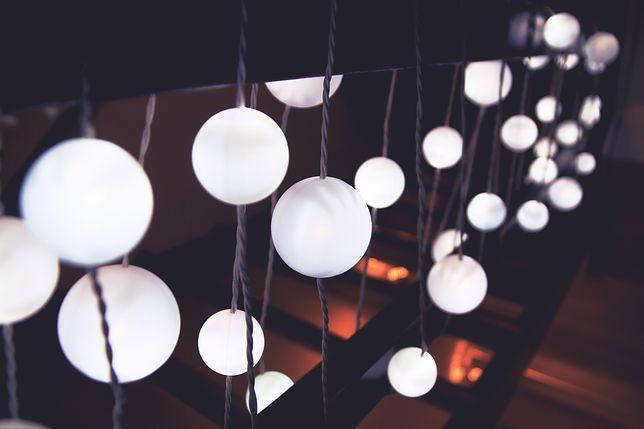 Dekoracje światłem mogą być bardzo różnorodne