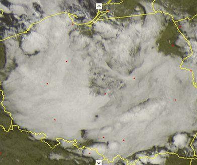 Nietypowe chmury nad Polską.
