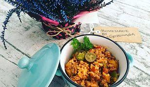 Ryż z mięsem mielonym i warzywami