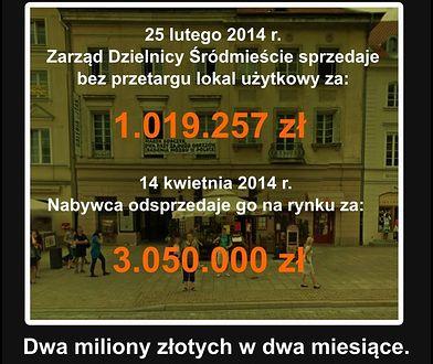 Miasto Jest Nasze oskarża: Gdzie trzy miliony? Były burmistrz odpowiada